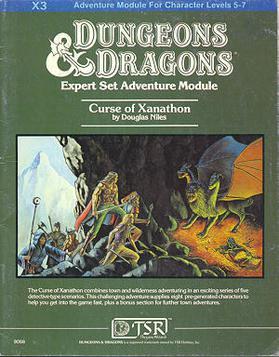 Cover of X3 Curse of Xanathon