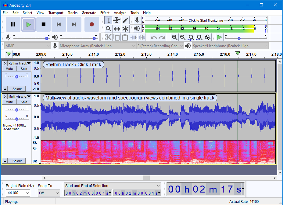 Free audio editing software download