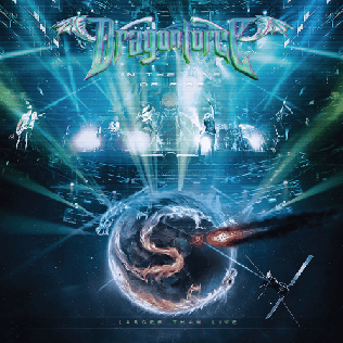 <i>In the Line of Fire... Larger Than Live</i> album by DragonForce
