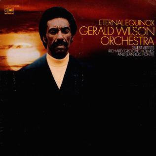<i>Eternal Equinox</i> 1969 studio album by Gerald Wilson Orchestra