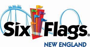 Six Flags New England Theme park in Agawam, Massachusetts