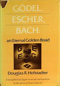 Picture of a book: Gödel, Escher, Bach: An Eternal Golden Braid
