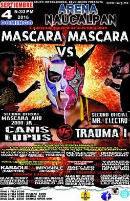 Lucha libre mascara vs bikini - 1 part 8