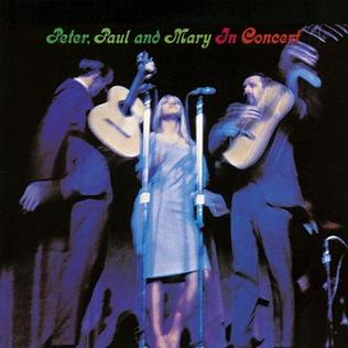 In Concert Peter Paul And Mary Album Wikipedia