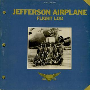 <i>Flight Log</i> 1977 greatest hits album by Jefferson Airplane