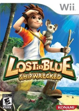 Lost in Blue   Shipwrecked Coverart Lost in Blue  Shipwrecked  [ Wii ]