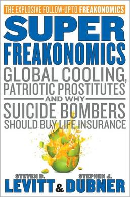 Picture of a book: Superfreakonomics