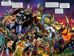 List of Thor (Marvel Comics) supporting characters - Wikipedia