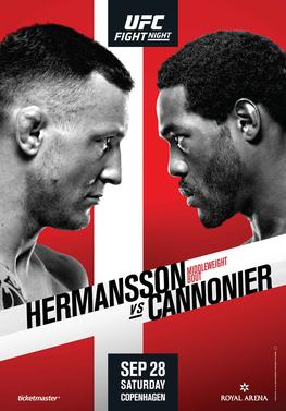 UFC Fight Night: Hermansson vs  Cannonier - Wikipedia