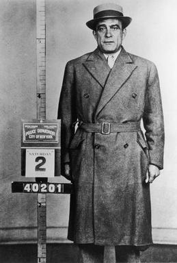 Vito Genovese at the time of his arrest August 2, 1958 in New York City. Vito Genovese 1958.jpg