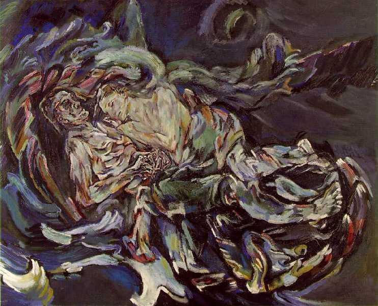 La sposa del vento di Oskar Kokoschka