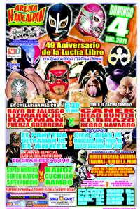 49th Anniversary of Lucha Libre in Estado de México
