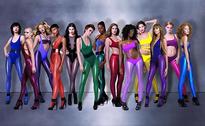 Heather Payne Fashion Model