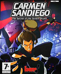 <i>Carmen Sandiego: The Secret of the Stolen Drums</i>