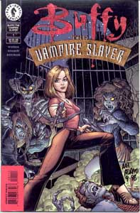Cover to a Dark Horse Buffy comic