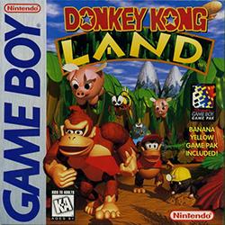 <i>Donkey Kong Land</i> 1995 platform video game for the Game Boy