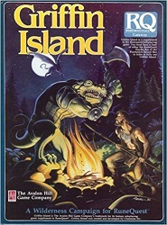 <i>Griffin Island</i> (RuneQuest) Fantasy tabletop role-playing game supplement