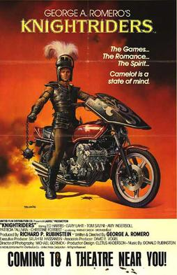 Knightriders, the 1981 film by George A. Romero. Never heard of it? The very definition of a cult movie!