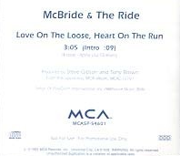 McBride and the Ride - Love On the Loose single.png
