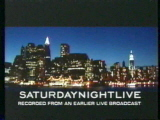 The title card for the twenty-seventh season of Saturday Night Live.