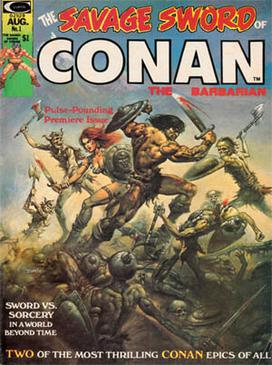 Picture of a book: The Savage Sword Of Conan