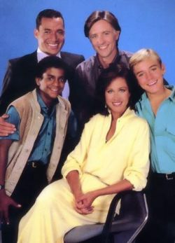 The cast of Silver Spoons, season 4