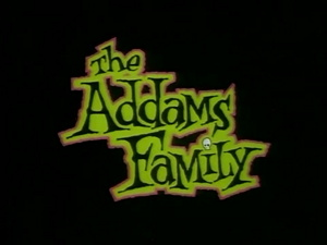 The Addams Family 1992 Animated Series Title Card