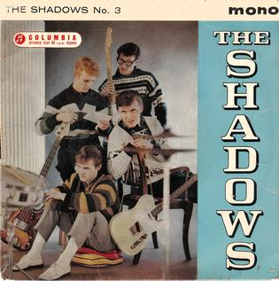 <i>The Shadows No. 3</i> 1961 EP by The Shadows