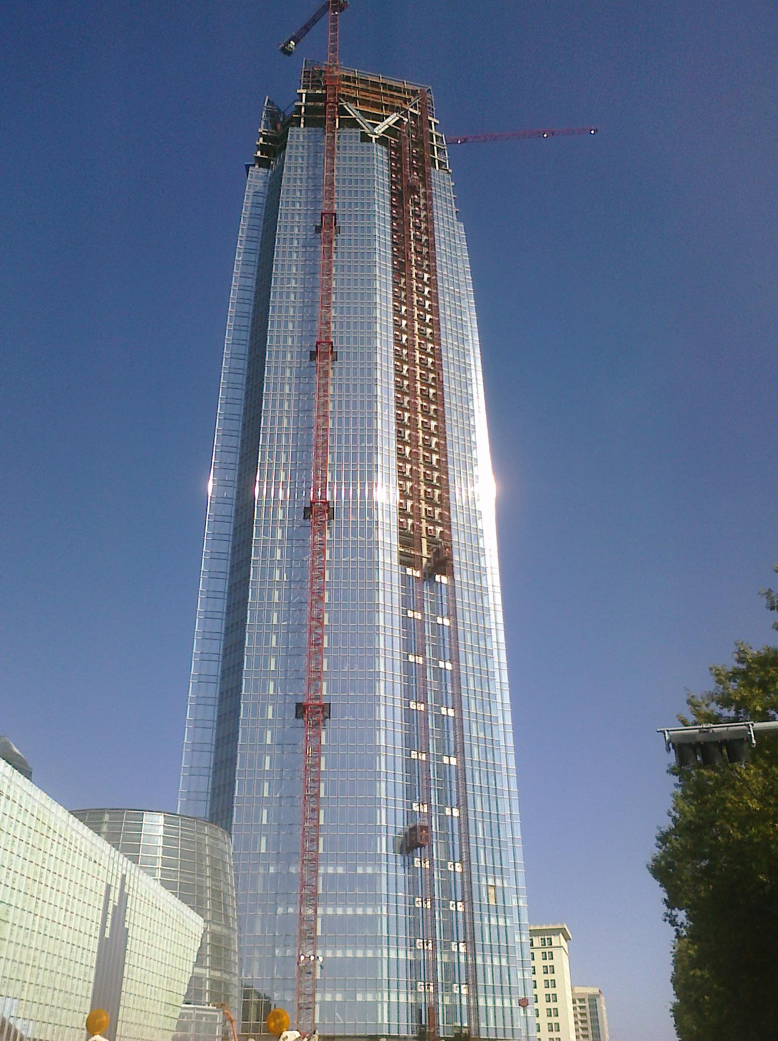 devon tower height