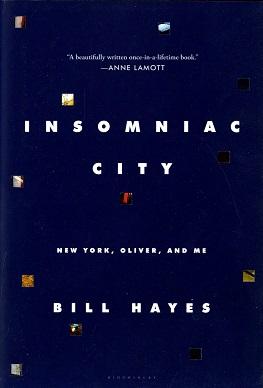<i>Insomniac City</i> 2017 memoir by Bill Hayes