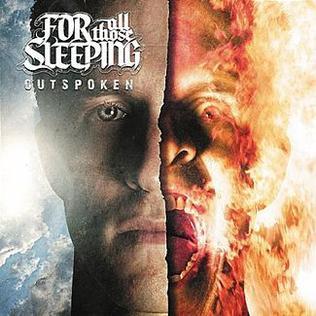 <i>Outspoken</i> (album) 2012 studio album by For All Those Sleeping