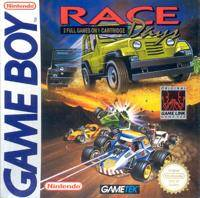 Game Boy - Dirty Racing Box Art
