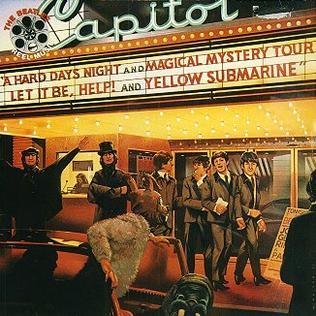 <i>Reel Music</i> 1982 compilation album by the Beatles