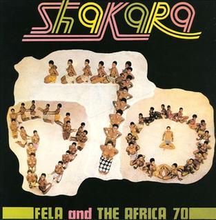 <i>Shakara</i> (album) 1972 studio album by Fela Ransome-Kuti and the Africa 70