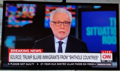 "CNN could freely discuss Donald Trump's characterization of ""shithole countries"" because CNN is available only by subscription, not broadcast over open airwaves."