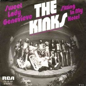 Sitting in My Hotel 1973 single by The Kinks