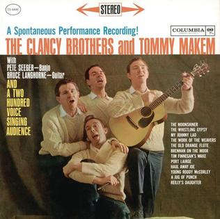 <i>A Spontaneous Performance Recording</i> 1961 live album by The Clancy Brothers and Tommy Makem