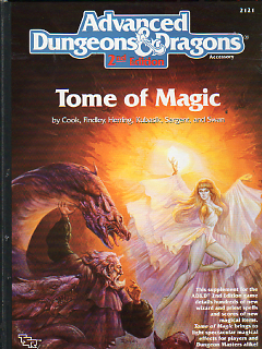 <i>Tome of Magic</i> book by David Cook