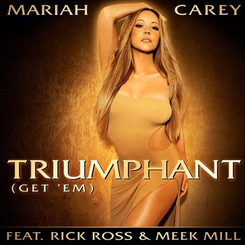 Mariah Carey featuring Rick Ross and Meek Mill — Triumphant (Get 'Em) (studio acapella)