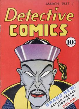 Detective Comics #1 (March 1937). Cover art by...