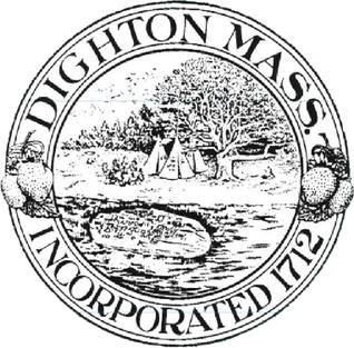 Official seal of Dighton, Massachusetts