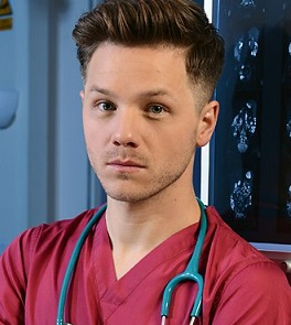 Dominic Copeland Fictional general surgeon in BBC TV medical drama Holby City