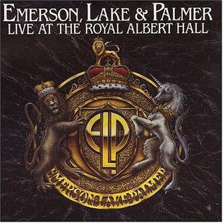 <i>Live at the Royal Albert Hall</i> (Emerson, Lake and Palmer album) 1993 live album by Emerson, Lake & Palmer