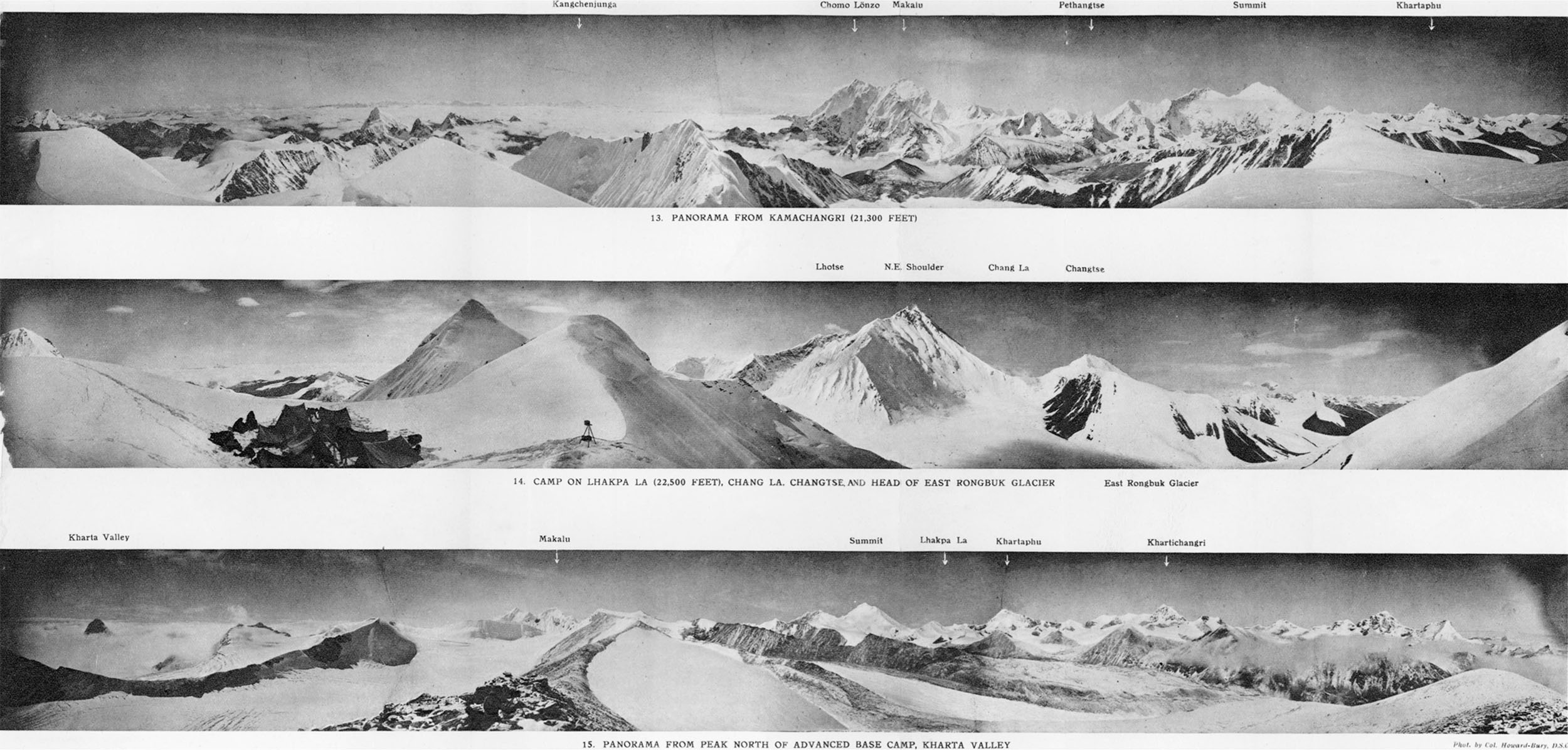 Mount Everest Panorama Mount Everest Panoramas Taken
