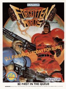 <i>Forgotten Worlds</i> 1988 video game
