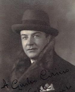 Gino Vanelli Italian opera singer
