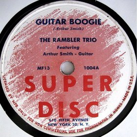 Guitar Boogie (song) Instrumental first recorded by Arthur Smith