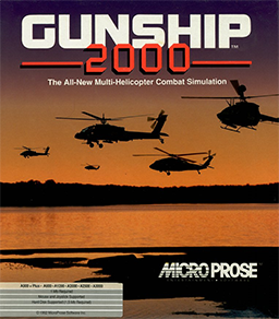Picture of a game: Gunship 2000