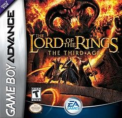<i>The Lord of the Rings: The Third Age</i> (Game Boy Advance) 2004 video game for GBA