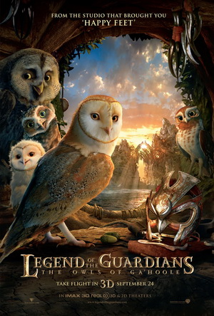 Legend of the Guardians (2010) movie poster